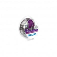 Bec auto Vision 60 Philips H1 12V 55W set 2 bucati - 12258VPS2
