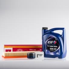 Pachet schimb ulei Plus ELF pentru Dacia Logan 1.5 dCi
