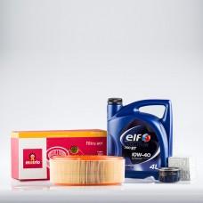 Pachet schimb ulei Plus ELF pentru Dacia Logan 1.4 Mpi
